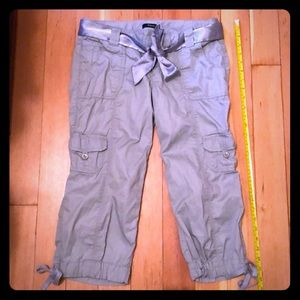 Express Capri Cargo Pants